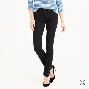 J Crew Black Matchstick Jeans